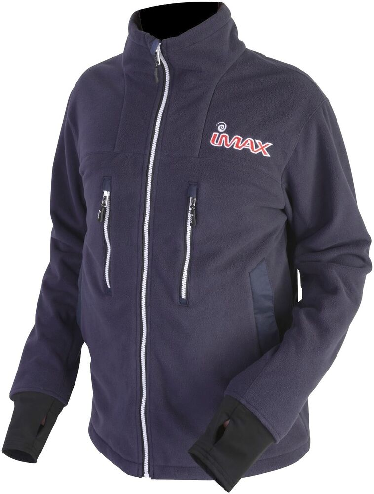 Shore Imax Ocean Thermal Zipped Jacket Grey//Red all sizes Boat