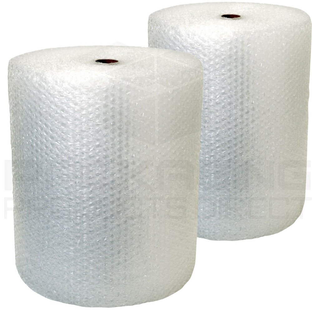 2 rolls of bubble wrap 500mm x 50m large bubble ebay. Black Bedroom Furniture Sets. Home Design Ideas