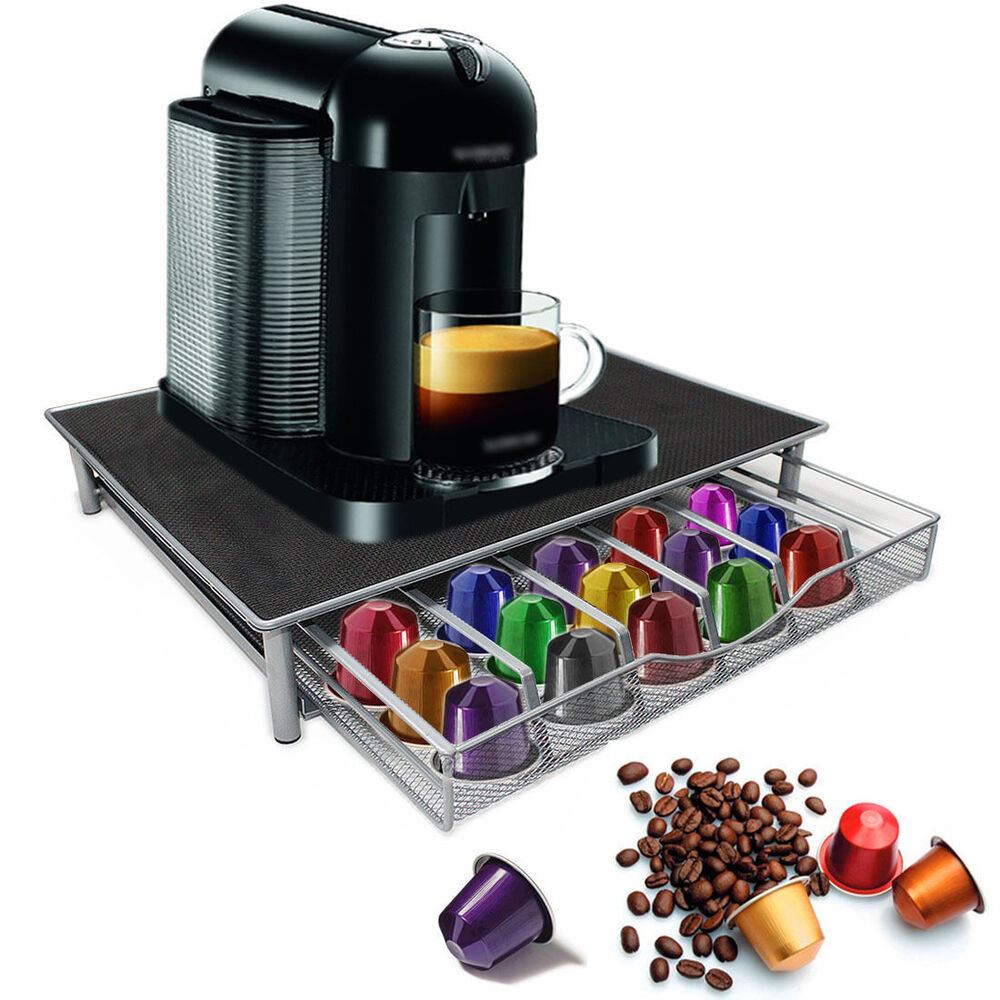 coffee machine stand capsule pod nespresso dolce gusto. Black Bedroom Furniture Sets. Home Design Ideas