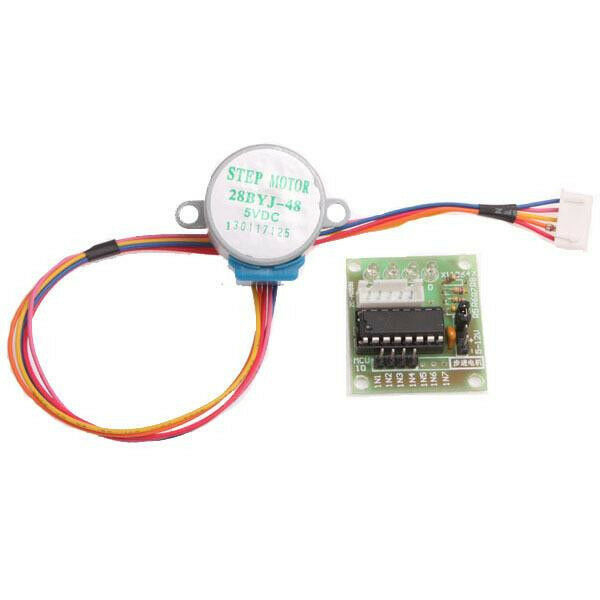 5pcs dc 5v stepper motor uln2003 driver test module for How to check stepper motor