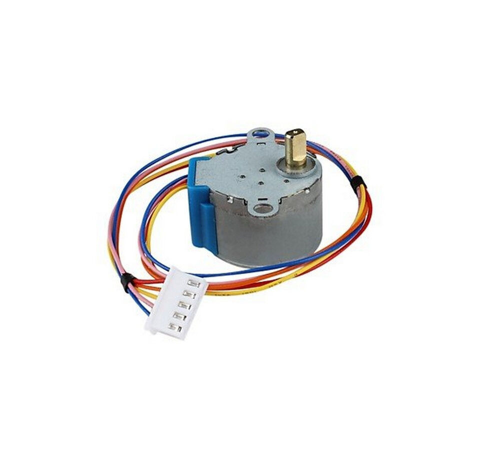 5pcs 28byj 48 valve gear stepper motor dc 12v 4 phase step
