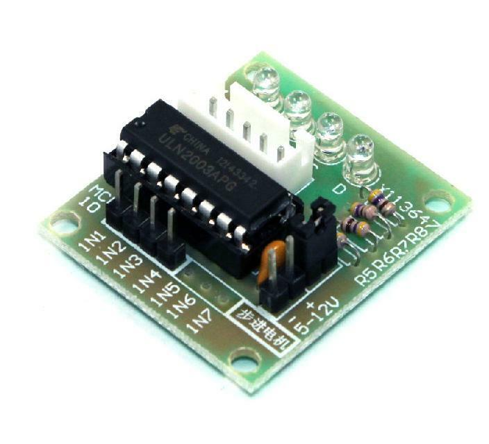 5 line 4 phase uln2003 stepper motor test board driver for How to check stepper motor