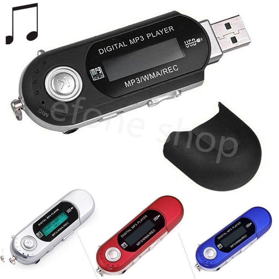 usb mp3 music player digital lcd screen support 8 16 32gb. Black Bedroom Furniture Sets. Home Design Ideas