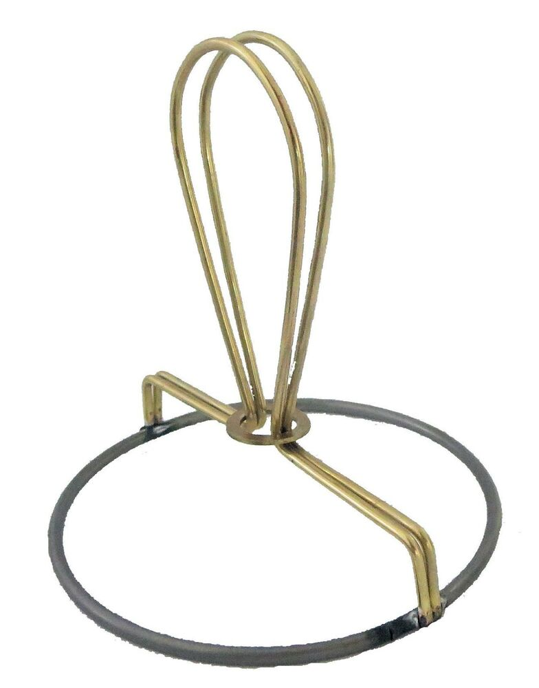 """3"""" WIRE CANDELABRA CLIP-ON- MAKE YOUR OWN LAMP SHADES"""