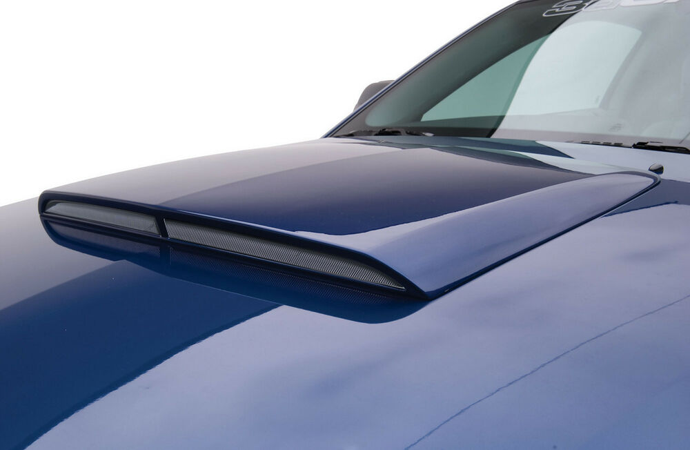 05 09 Mustang V6 GT 3dCarbon Urethane Ram Air Style Hood