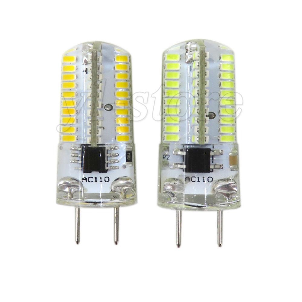 G8 Bi Pin 3W T6 Dimmable 80 3014 SMD LED Light Bulb