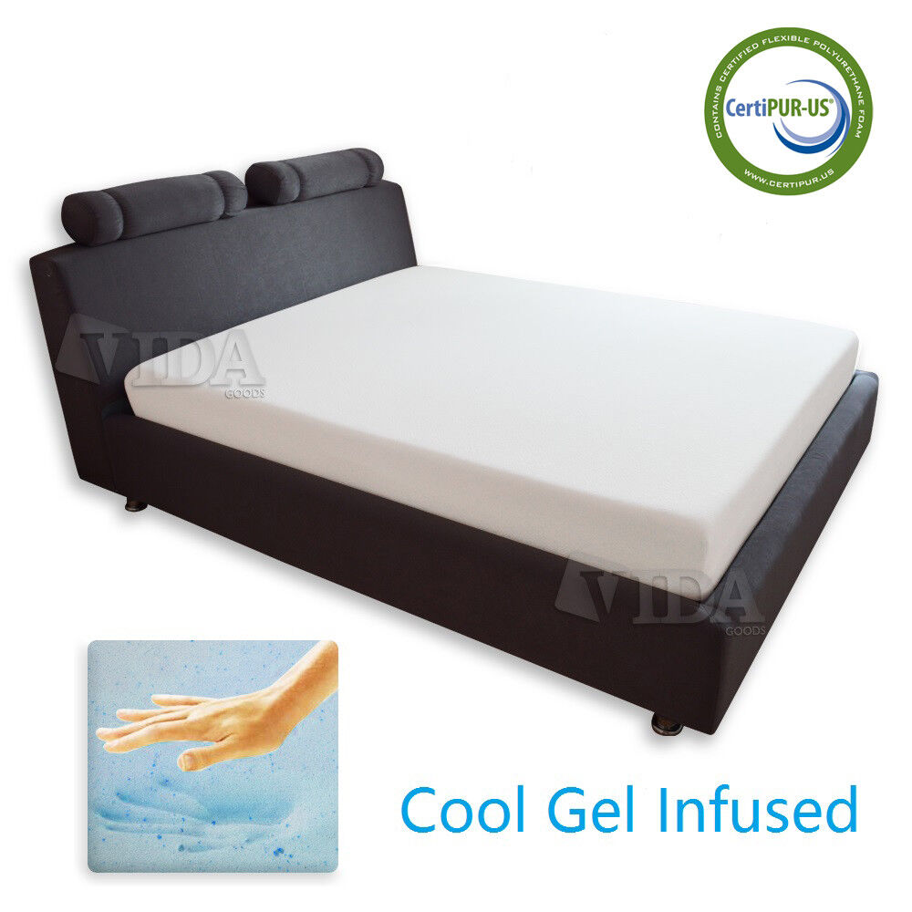 8 inch cool medium memory foam mattress twin full queen king cal king ebay Mattress king