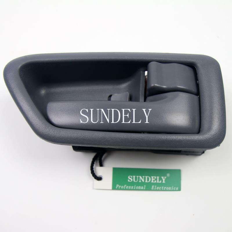 Grey front rear right passenger interior door handle for - 2002 toyota camry interior door handle ...