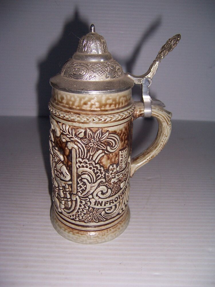 Vintage german beer stein Made in West Germany | eBay |Vintage West Germany Beer Steins