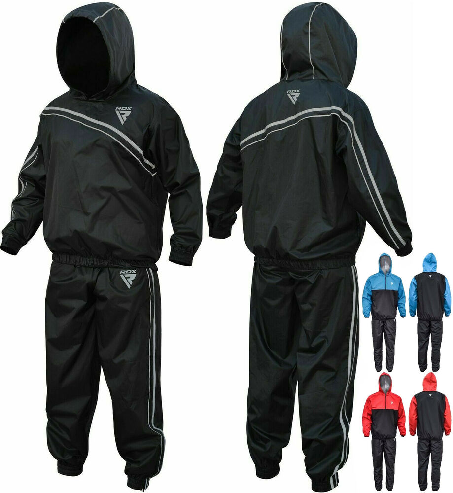 Rdx Weight Loss Sauna Suit Sweat Slimming Boxing Heavy