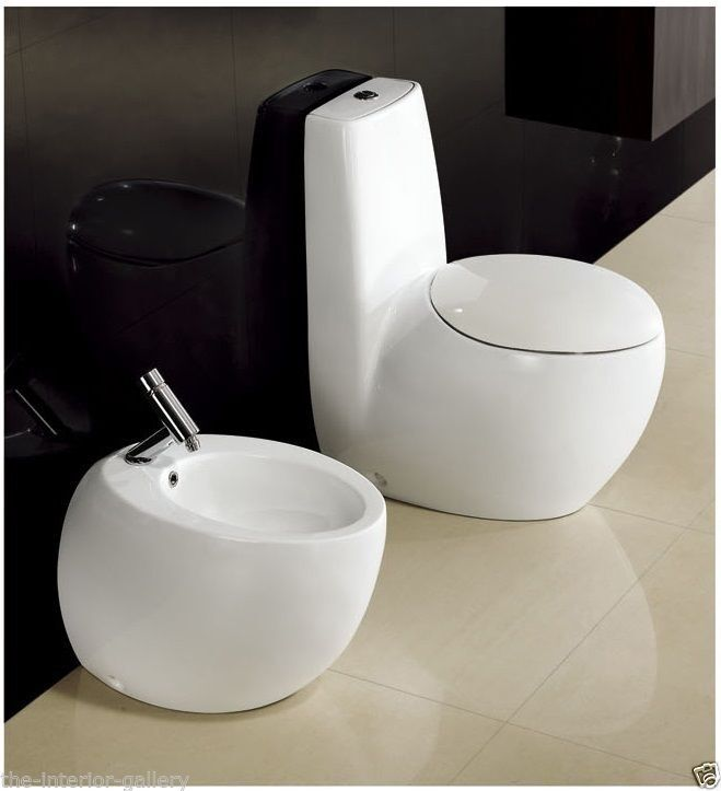 Modern Toilet - Bathroom Toilet - Dual Flush Toilet Toilet ...