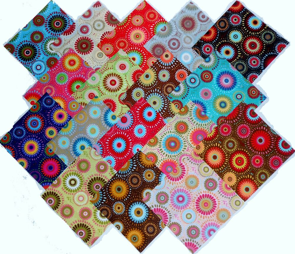 Layer Cake Quilt Fabric : 17 10