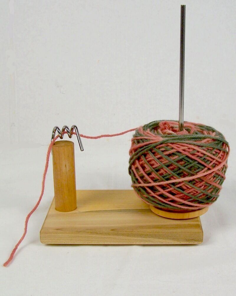 Knitting Yarn Holder : Nancys knit knacks yarn pet tool notion ball holder