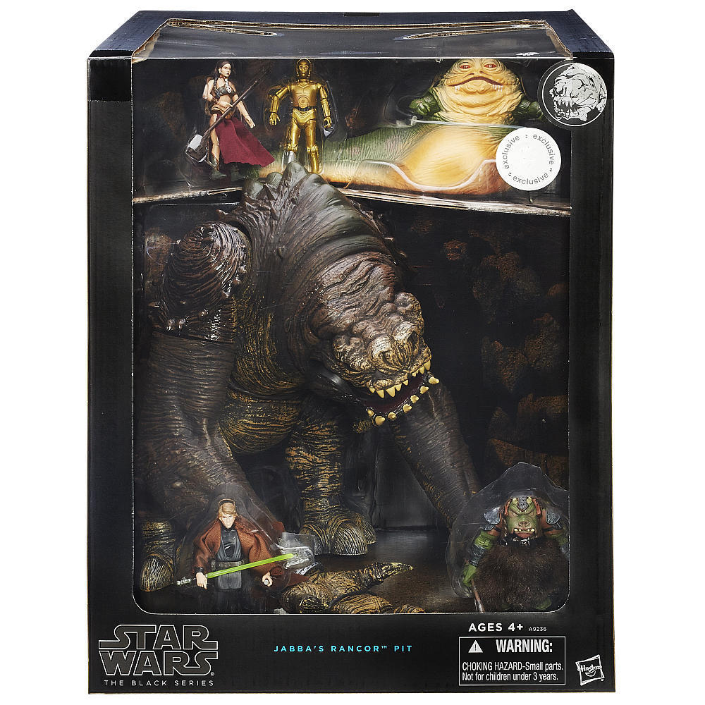 SDCC 2015 STAR WARS BLACK SERIES JABBA'S RANCOR PIT DELUXE ...