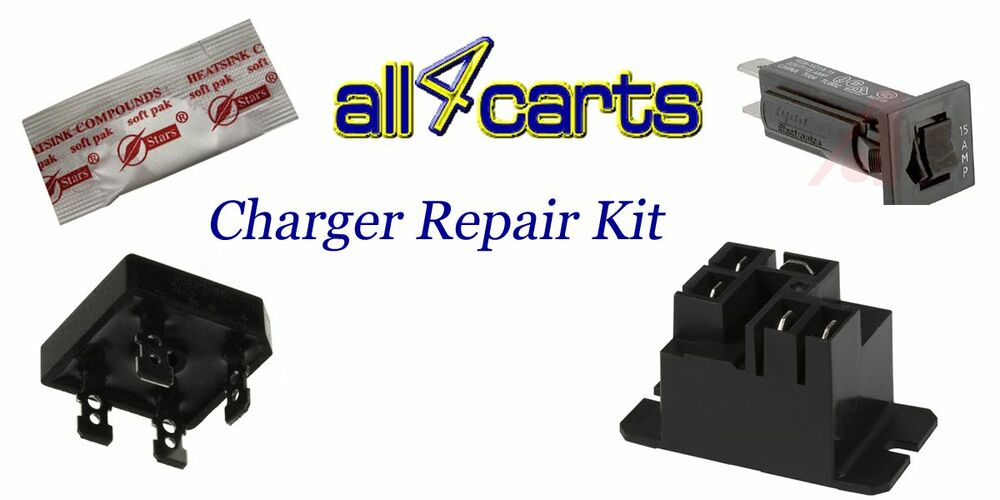 Club       Car       Powerdrive       2    Charger Repair Kit  For Golf Cart Charger 22110 Model   eBay