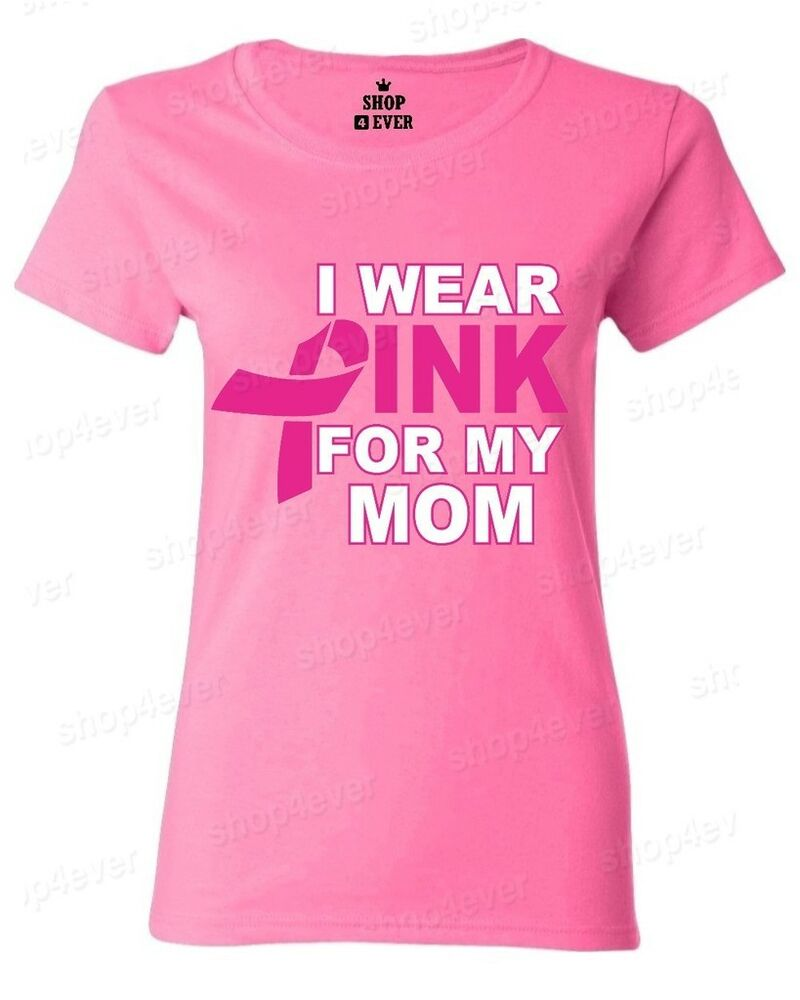 breast cancer apparel i wear pink for my s t shirt pink ribbon breast 12316