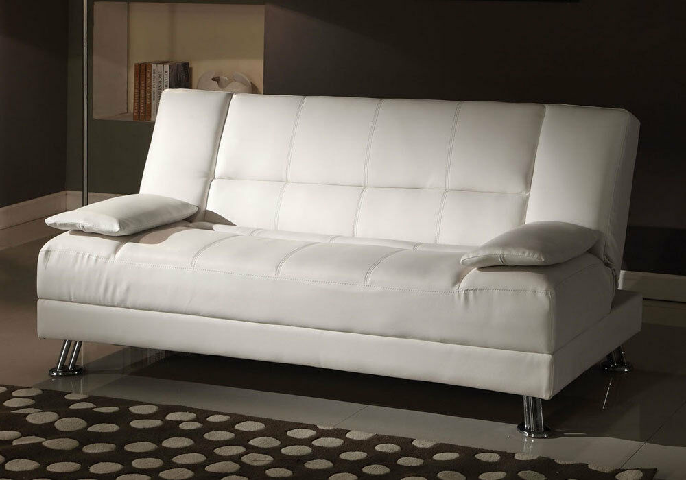 Fae Accent Adjustable Sofa Bed Futon Sleeper Couch W 2