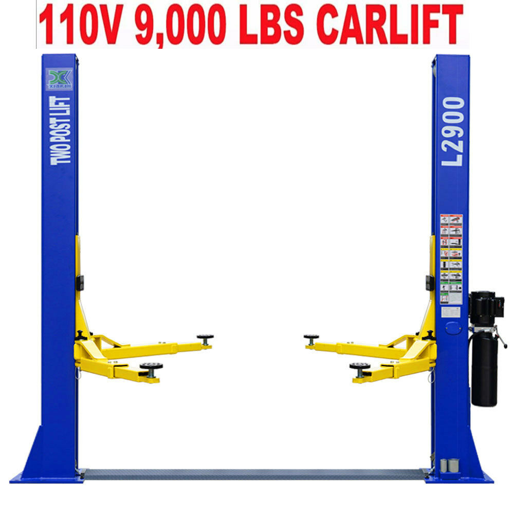 Two Post L 2900 Auto Lift 9 000 Lb Capacity Car Vehicle