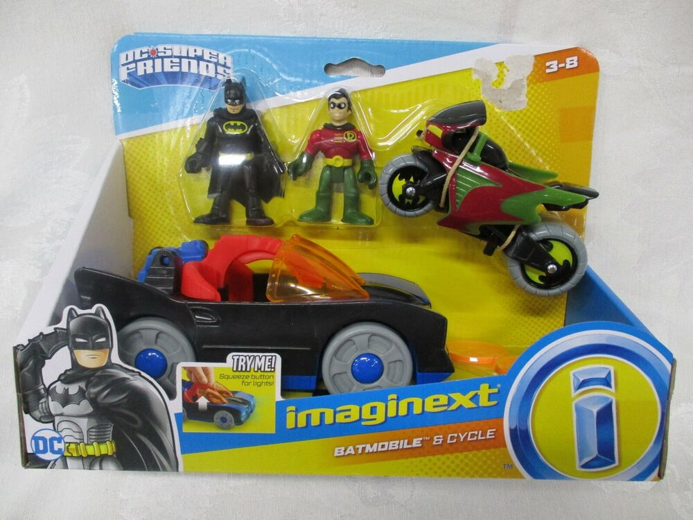 fisher price imaginext new batman robin motorcycle. Black Bedroom Furniture Sets. Home Design Ideas