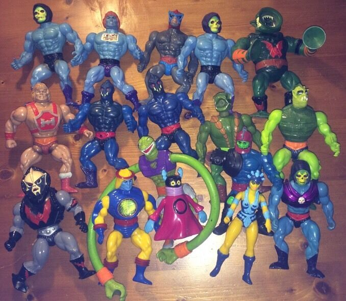 80s Toys Action Figures : S he man motu action figures select from list