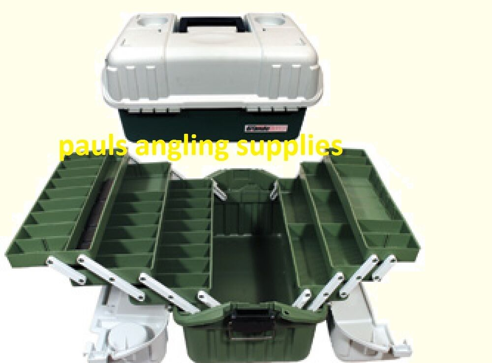 Grandeslam x large 6 tray cantilever fishing tackle box for Large tackle boxes for fishing