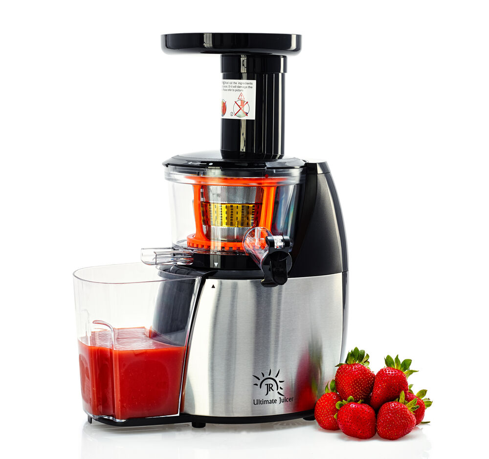 Slow Juicer With Salad Maker : JR Ultra 6000 Multipurpose Masticating Slow Juicer, Smoothie Maker, Cold Press eBay