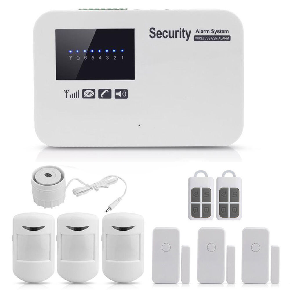 App Remote Control Wireless Gsm Alarm Home House Security
