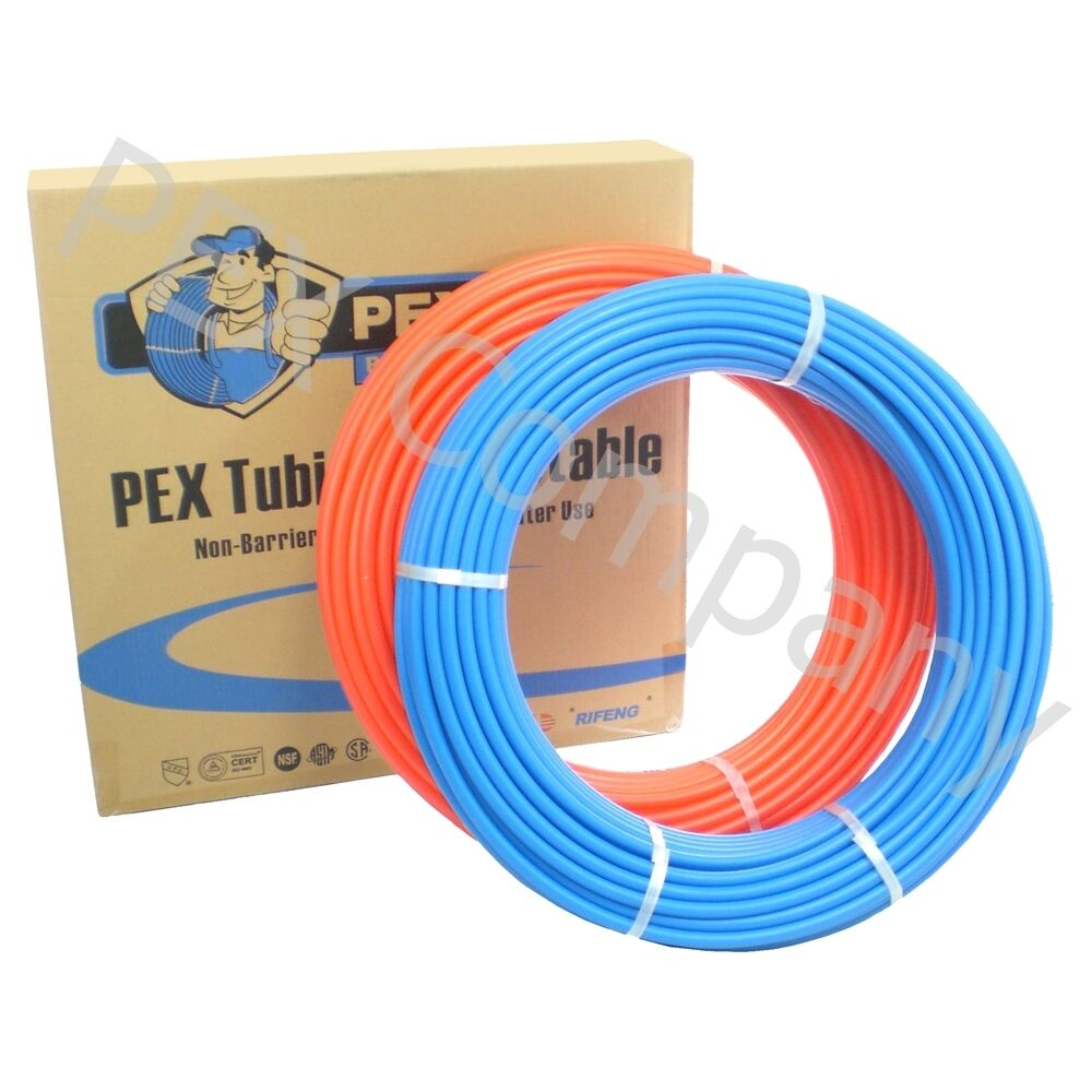 Combo 2 rolls 1 2 x 100ft pex tubing for potable water ebay for Potable water