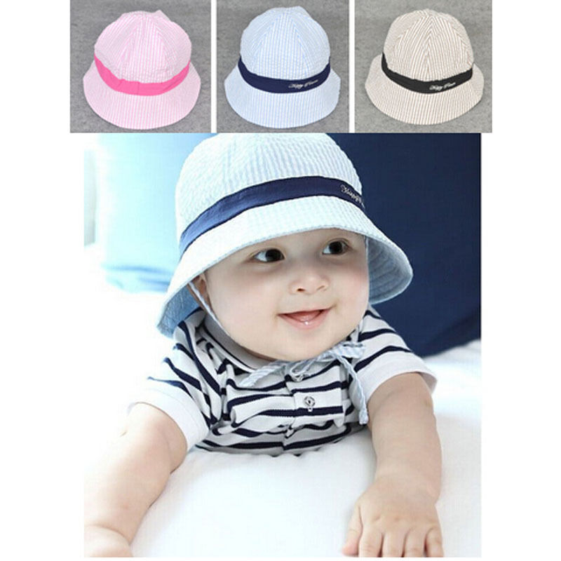 Details about Baby Boys Girls Summer Sun Visor Hat Cap Cute Lovely Cap  Cotton Hat Hot Selling 787fbc9a9134