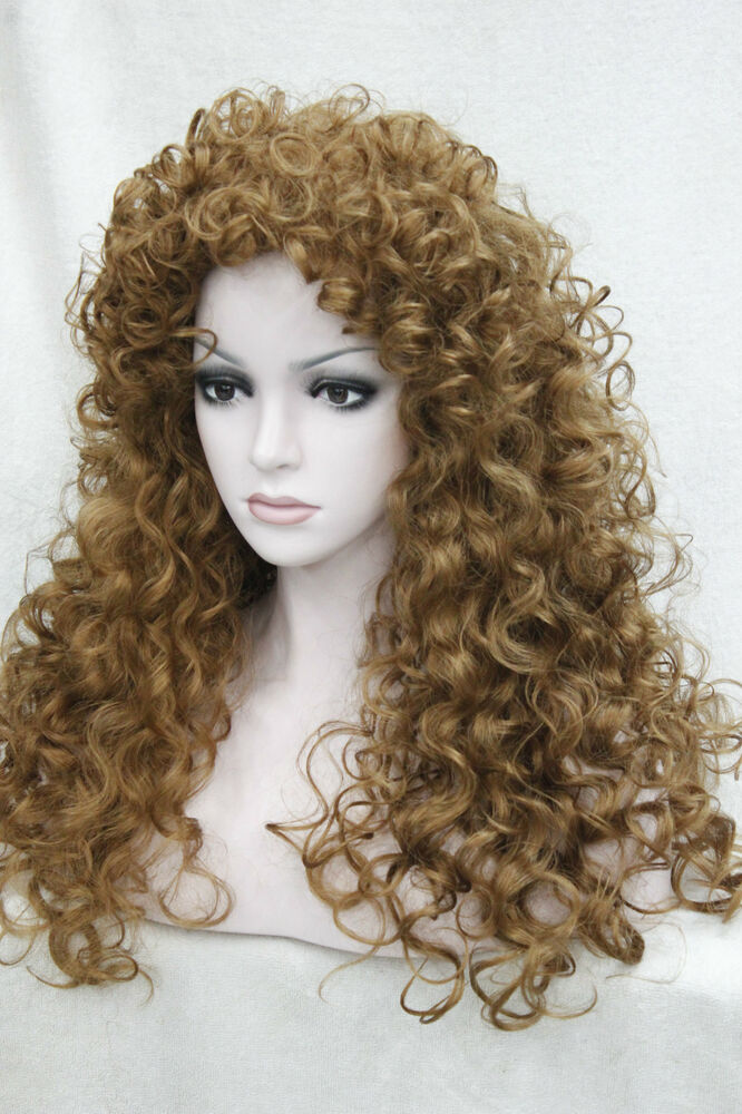 """new fashion sexy curly 24"""" long synthetic hair wig ..."""