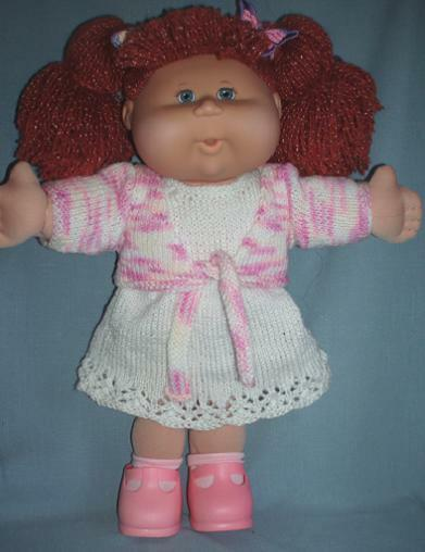Knitting Patterns For Cabbage Patch Dolls : Trendy Girls KNITTING PATTERN BOOKLET to make Cabbage Patch Kids Doll Clothes...