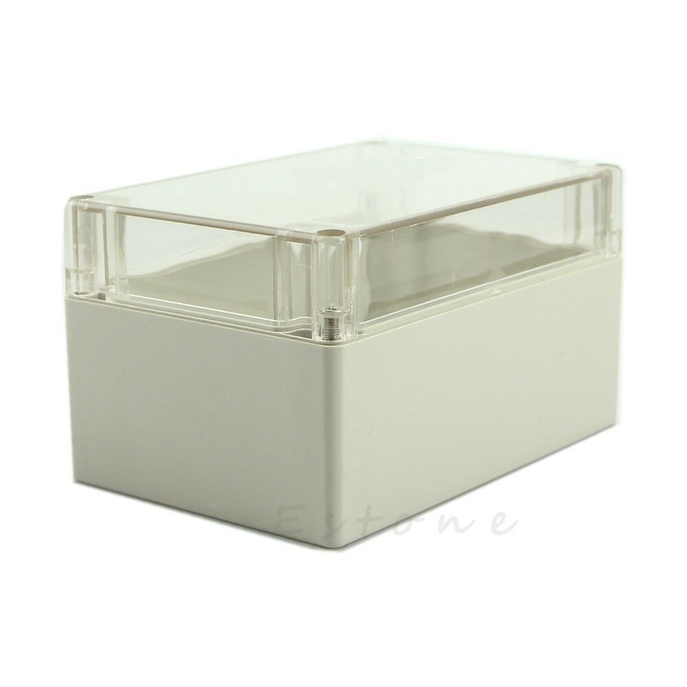 Clear Waterproof 160x110x90mm Plastic Electronic Project