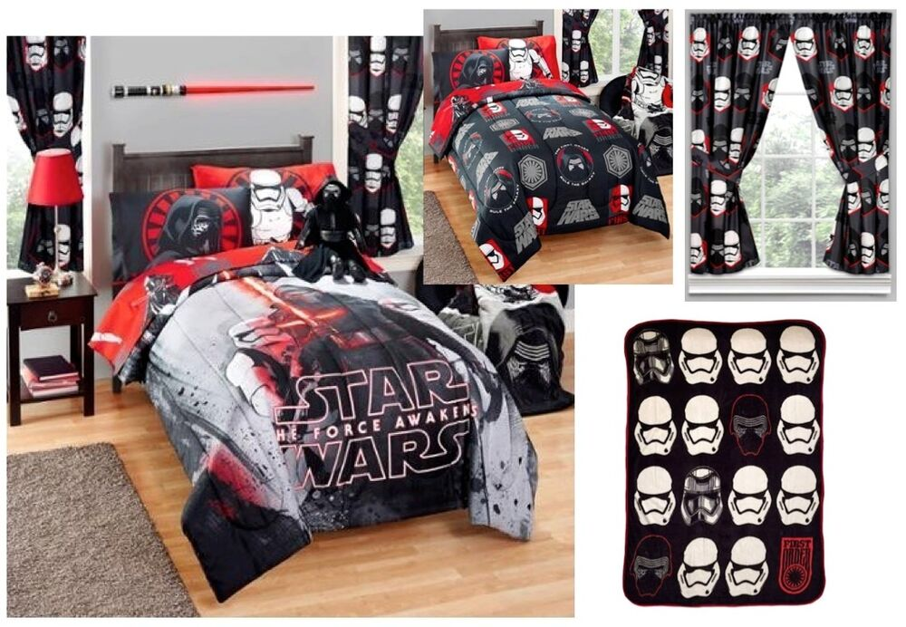Kids Girls Boys Star Wars Episode 7 Bed In A Bag