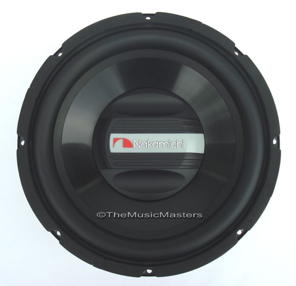 "(1) Single 12"" Car Audio 800W Woofer Subwoofer NAK Premium"
