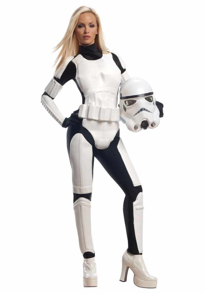 Details about Adult Female Stormtrooper Costume Sexy Star Wars Storm  Trooper - Large 14-16