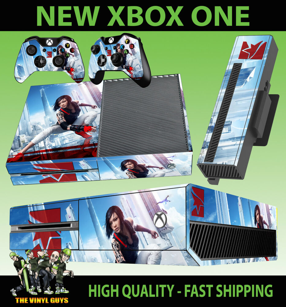Xbox one mirrors edge catalyst faith connors console for Mirror xbox one