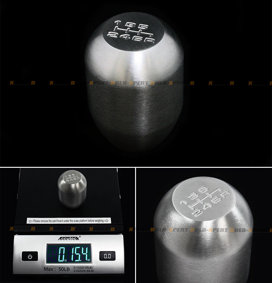 435g Heavy Weighted 6 Speed Steel Jdm Shift Knob For 350z