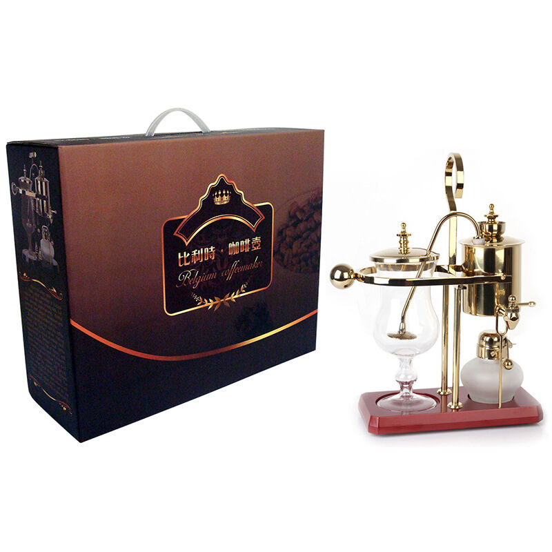 Belgium luxury royal family siphon syphon balance coffee for Best luxury coffee maker