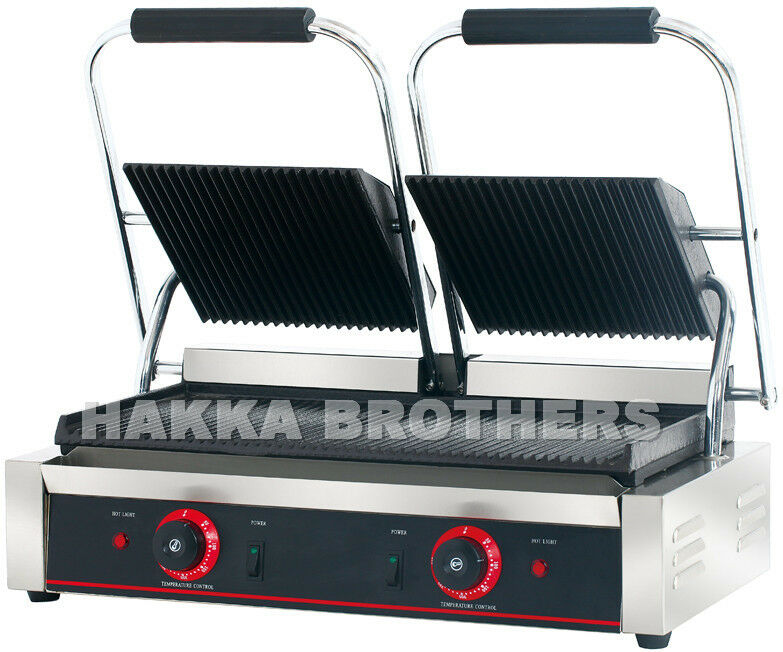 Hakka Commercial Professional Panini Press Grill And