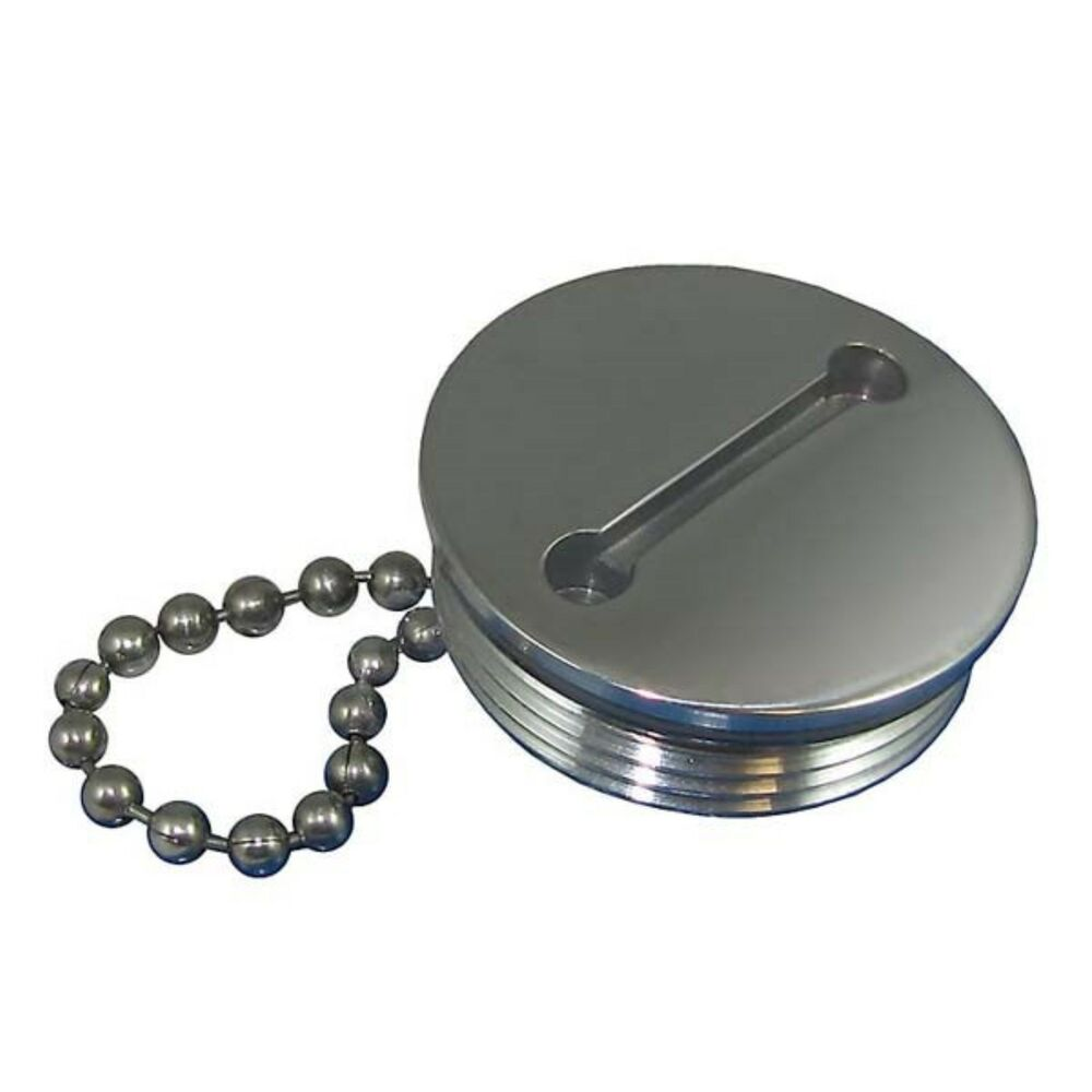 Attwood replacement gas cap and chain stainless steel ebay