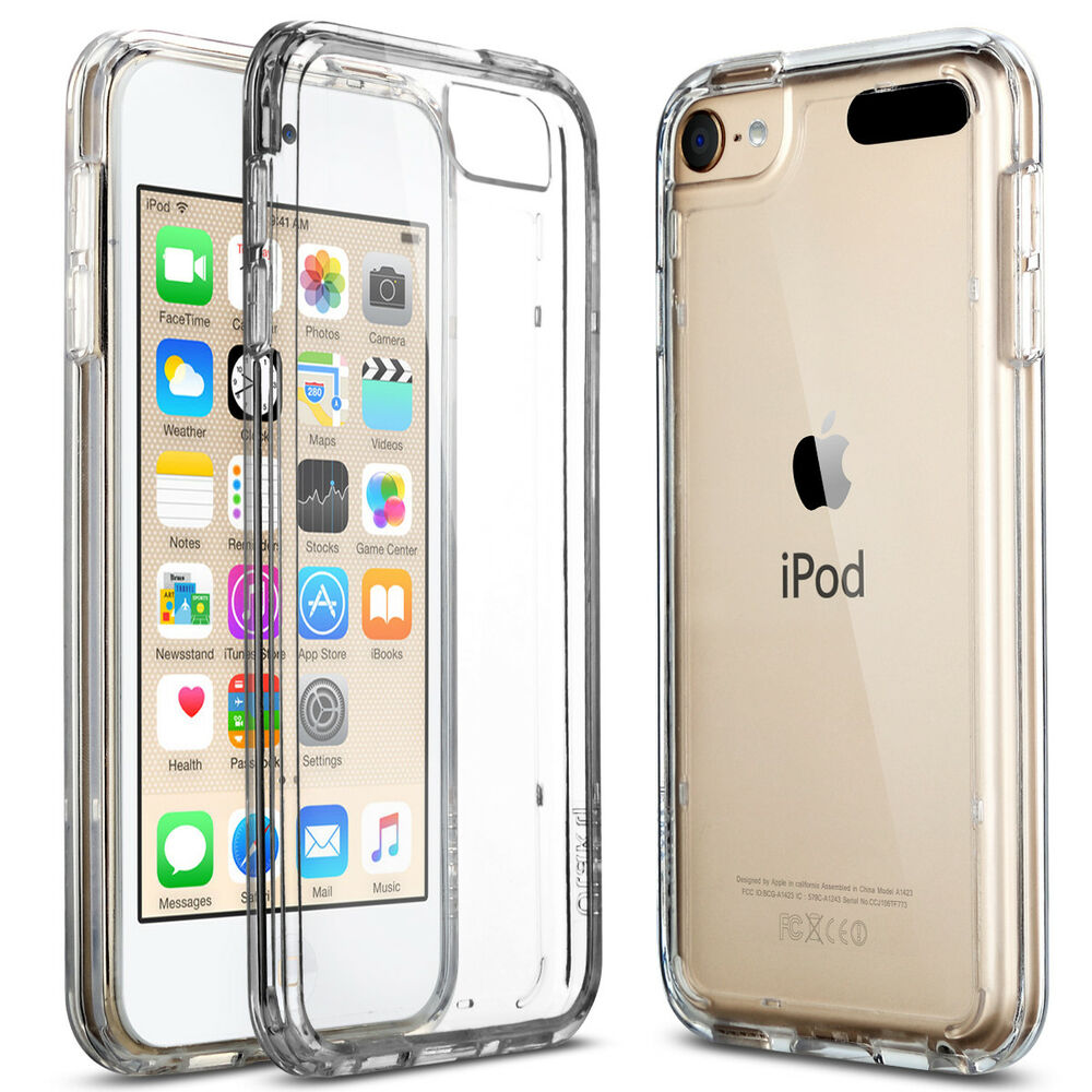 For Apple iPod Touch 6 5th Crystal CLEAR SLIM Shockproof ...