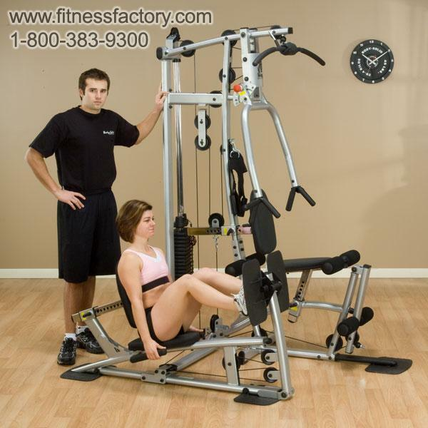 Home Exercise Equipment For Legs: BodySolid Powerline P1X Gym With Leg Press