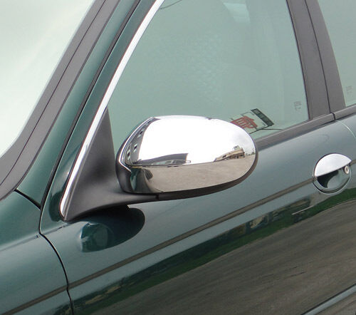 2002 Jaguar X Type Interior: Jaguar X Type Chrome Mirror Covers From 2001 To 2007