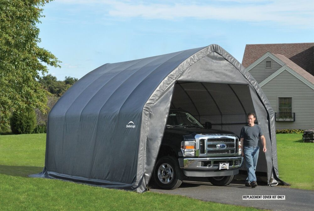 Car Canvas Shelters : Shelterlogic replacement cover  for