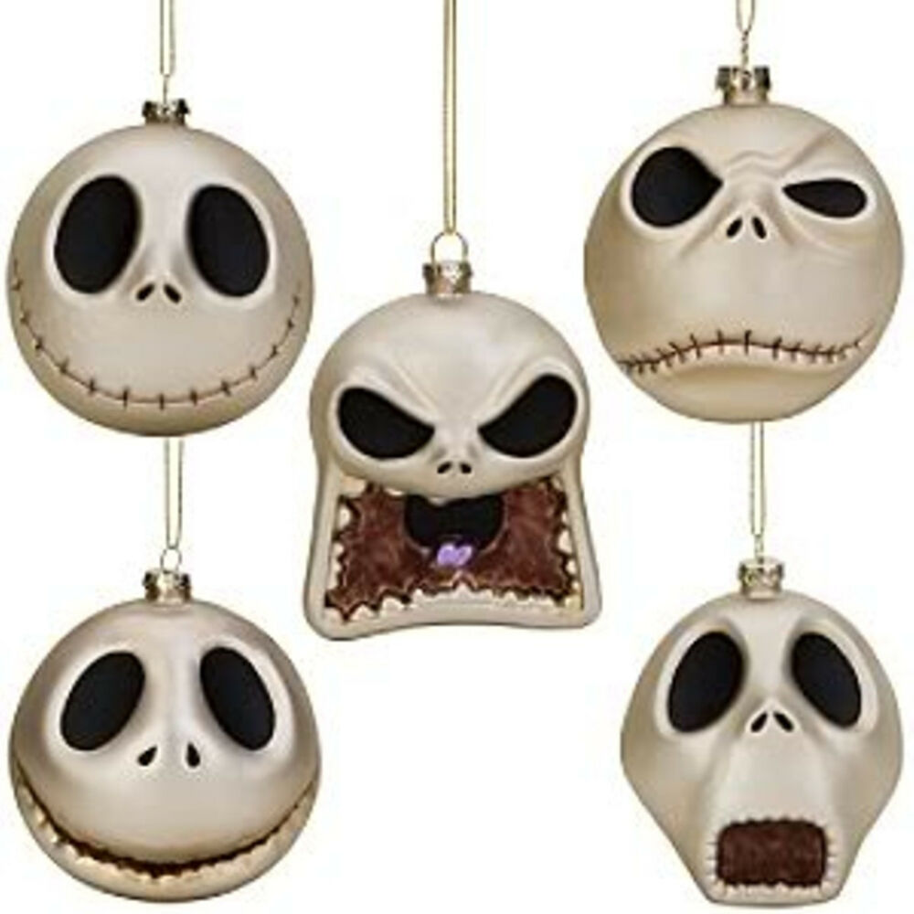 NIGHTMARE BEFORE CHRISTMAS JACK TREE ORNAMENTS DISNEY | eBay