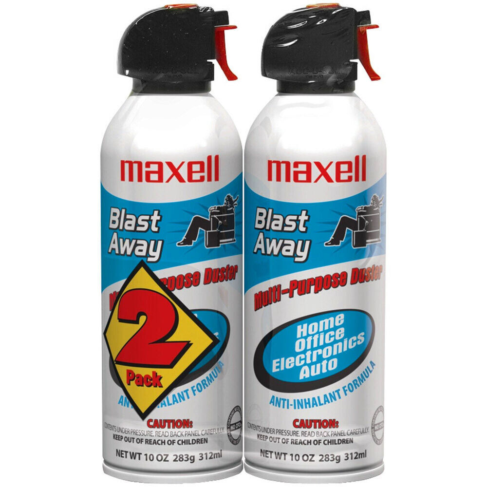 Maxell Ca 4 Blast Away Canned Air Duster Air Duster Ebay