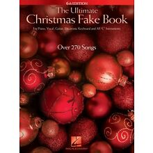 The Ultimate Christmas Fake Book 6th Edition Sheet Music for Piano Voc 000147215