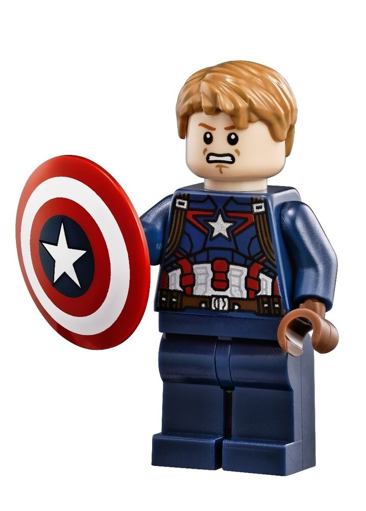 Lego marvel super heroes avengers captain america with shield helicarrier 76042 ebay - Lego capitaine america ...
