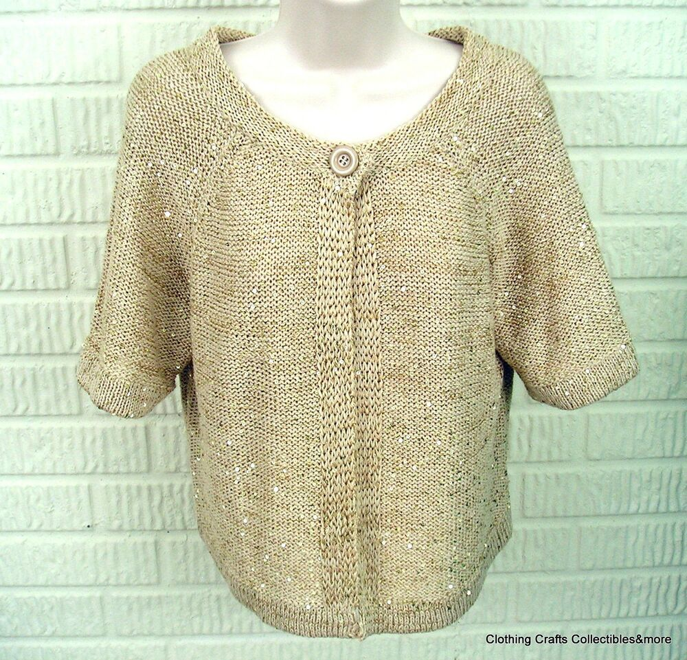 Find great deals on eBay for gold cardigan. Shop with confidence.