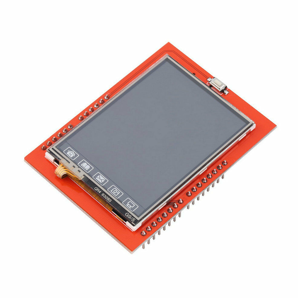 Tft lcd shield sd socket touch panel module for